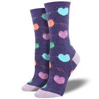 Socksmith Women's Time to Unwind Crew Sock