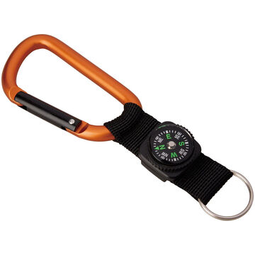 Munkees Carabiner w/ Strap & Compass