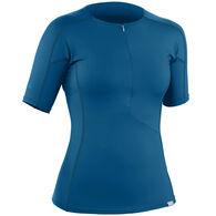 NRS Women's H2Core Rashguard Short-Sleeve Shirt