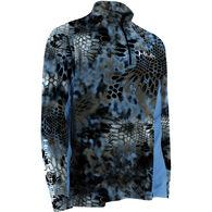 Huk Kryptek Icon 1/4 Zip Mock Neck Long-Sleeve Fishing Shirt