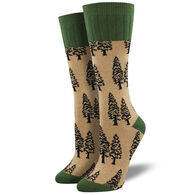 Socksmith Women's Outlands Trees Boot Sock