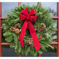 "Winnipesaukee Wreath 22"" Traditional Wreath"