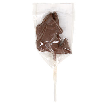 Asher's Chocolates Bass Milk Chocolate Pop - 1 oz.