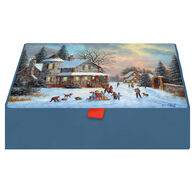 LPG Greetings A Treasured Time w/Keepsake Box Christmas Cards
