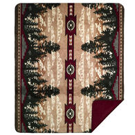 Monterey Mills Denali Autumn Point Throw Blanket