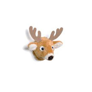 Stuffed Animal House Whitetail Deer Magnet