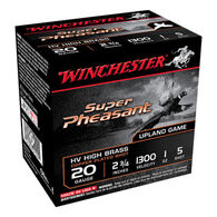 "Winchester Super-X Super Pheasant Magnum High Brass 20 GA 2-3/4"" 1 oz. #5 Shotshell Ammo (25)"