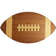 Totally Bamboo Football Cutting & Serving Board