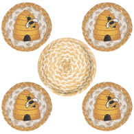 Capitol Earth Beehive Coaster Set