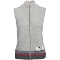 Woolrich Women's Grazing Sheep Lambs Wool Vest
