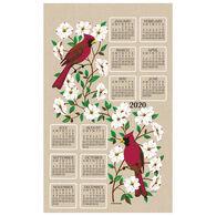 Kay Dee Designs 2020 Dogwood & Cardinal Calendar Towel