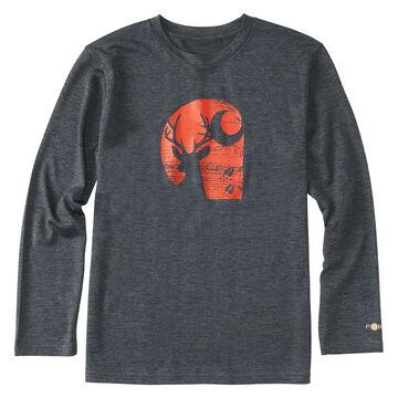 Carhartt Boys Force Deer C Long-Sleeve T-Shirt