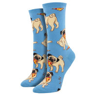 Socksmith Design Women's Man's Best Friend Crew Sock