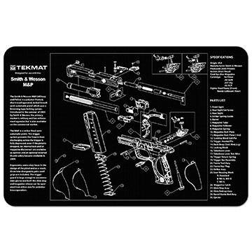 TekMat Smith & Wesson M&P Handgun Cleaning Mat