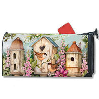 MailWraps Cottage Birdhouse Magnetic Mailbox Cover