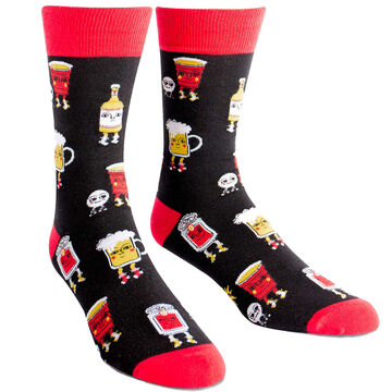 Sock It To Me Mens Beer Pong Sock