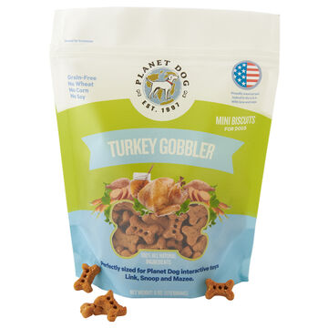 Planet Dog Orbee Grain-Free Turkey Gobbler Dog Treat - 6 oz.