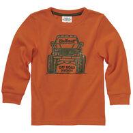 Carhartt Toddler Boy's Monster Truck Long-Sleeve Shirt