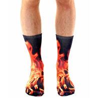 Living Royal Men's Flame Crew Sock