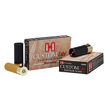 "Hornady Custom Lite 20 GA 2-3/4"" 250 Grain FTX Slug Ammo (5)"