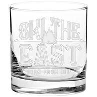 Ski The East Fireside Whiskey Glass