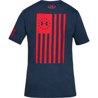 Under Armour Men's Freedom Flag Bold Short-Sleeve T-Shirt
