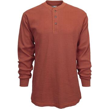 Canyon Guide Mens Thermal Henley Long-Sleeve Shirt