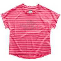 The North Face Girl's Long And Short Of It Short-Sleeve T-Shirt
