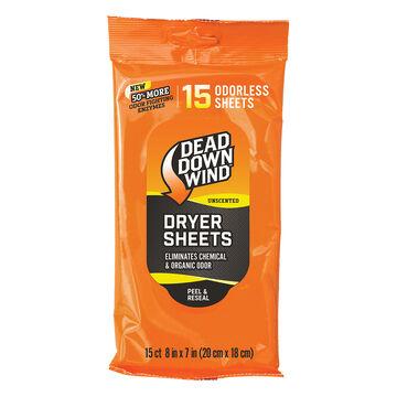 Dead Down Wind Dryer Sheets - 15 Pk.