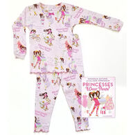 Books to Bed Princesses Wear Pants Pajamas & Book Set