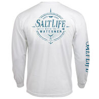 Salt Life Men's Watermen Way Long-Sleeve T-Shirt