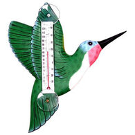 Bobbo Green Hummingbird Window Thermometer