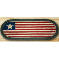 Capitol Earth Original Flag Oval Patch Runner