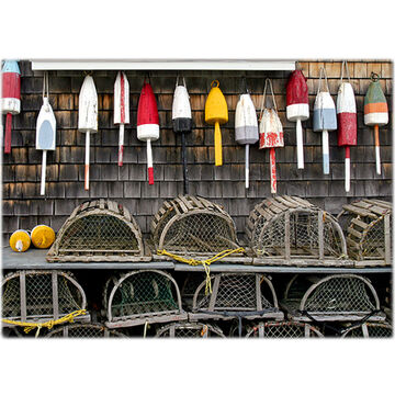 Lori A. Davis Photo Card - Buoys and Traps