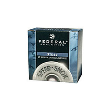 "Federal Speed-Shok Steel 12 GA 3-1/2"" 1-3/8 oz. #2 Shotshell Ammo (25)"