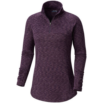 Columbia Womens OuterSpaced Half-Zip Long-Sleeve Shirt