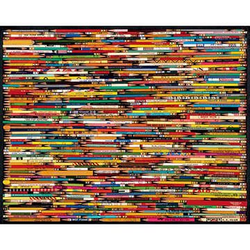 White Mountain Jigsaw Puzzle - Pencils