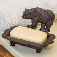 Manual Woodworkers & Weavers Cast Iron Bear Soap Dish