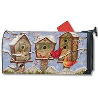 MailWraps Christmas Birdhouse Mailbox Cover