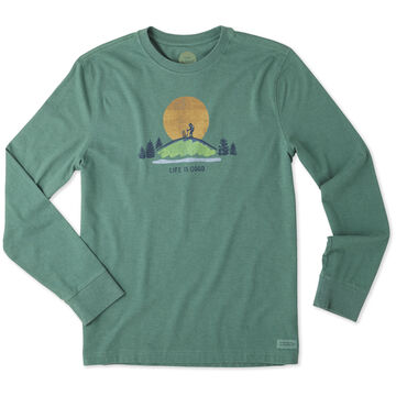 Life is Good Men's Hike Vista Crusher Long-Sleeve T-Shirt