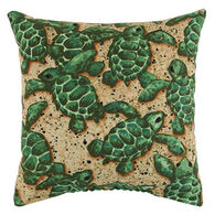 "Maine Balsam Fir 5"" x 5"" Turtle Pillow"