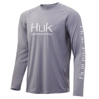 Huk Men's Pursuit Vented Performance Fishing Long-Sleeve Shirt