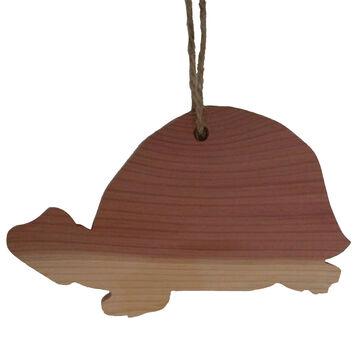 Chichester Turtle Cedar Silhouette Ornament