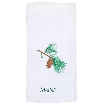 Kay Dee Designs Maine Pinecone Destination Souvenir Towel