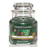 Yankee Candle Small Jar Candle - Balsam & Cedar