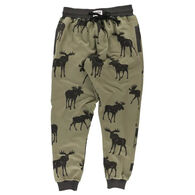 Lazy One Men's Mountain Made Jogger Pant