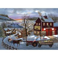 LPG Greetings Santa's on His Way Boxed Christmas Cards