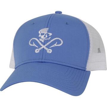 Salt Life Mens Skull and Hooks Mesh Hat