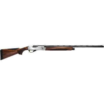 "Benelli ETHOS Shotgun - Engraved Nickel-Plated Receiver 20-Gauge 2-3/4"" and 3"""