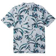 O'Neill Men's Jack O'Neill Aloha Life Button-Down Short-Sleeve Shirt